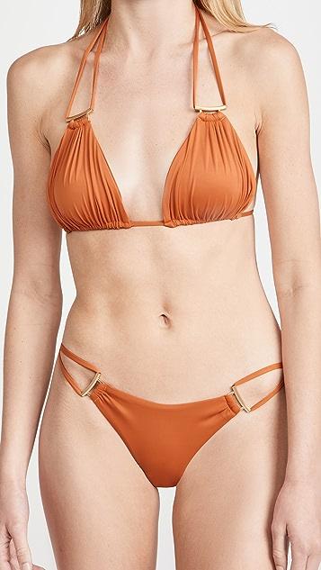 Cult Gaia Riley Bikini Top