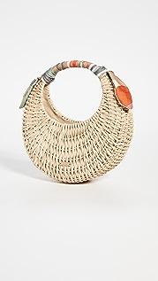 Cult Gaia Taja Mini Top Handle Bag