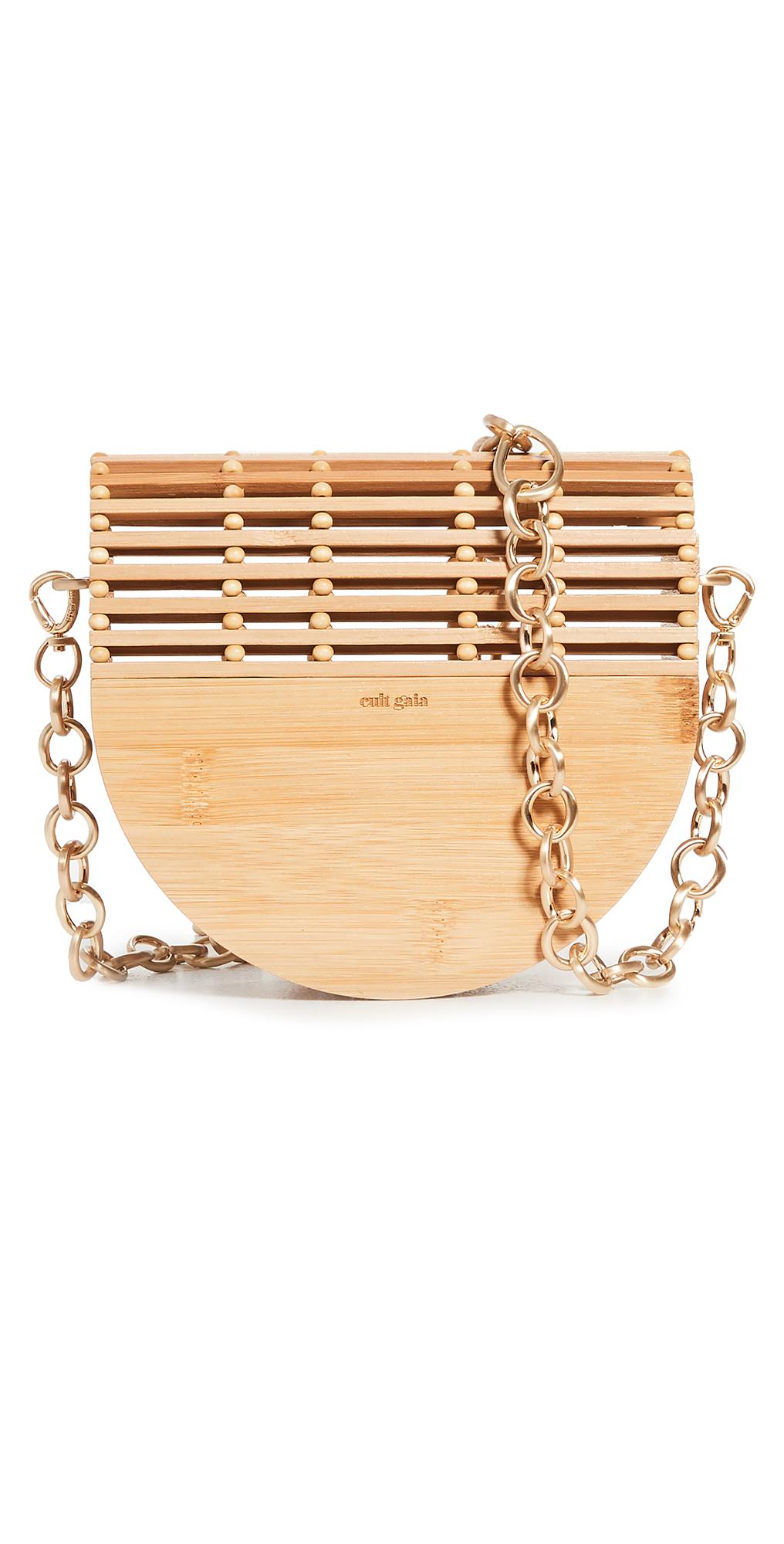 Cult Gaia Gaias Ark Flap Crossbody Bag