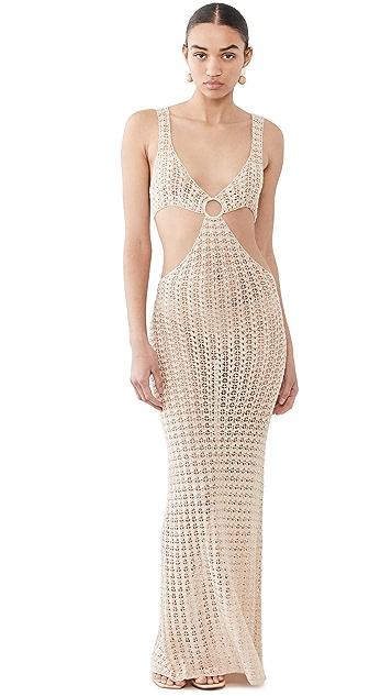 Cult Gaia Tyra Crochet Dress