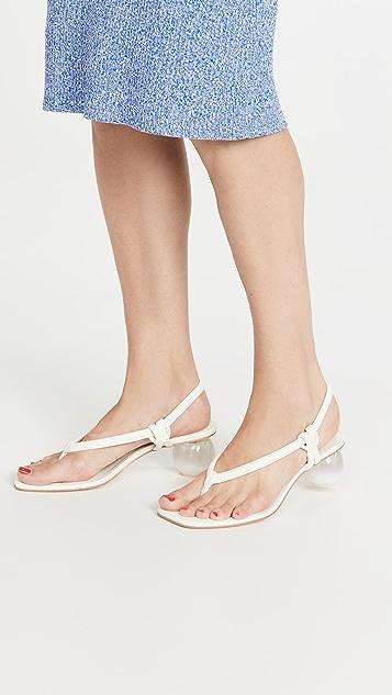 Cult Gaia Aviva 露跟鞋