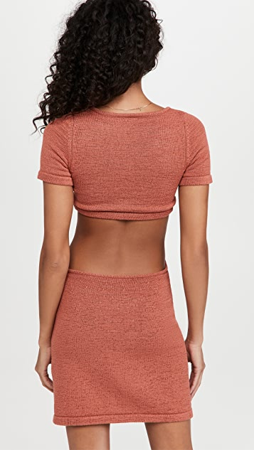 Cult Gaia Billie Knit Dress