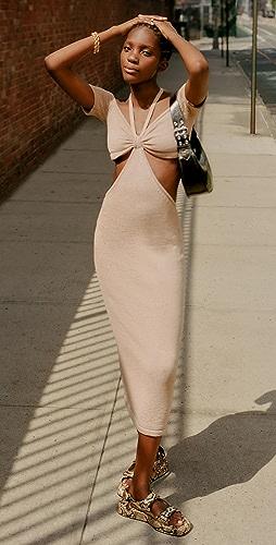 Cult Gaia - Alicia Knit Dress
