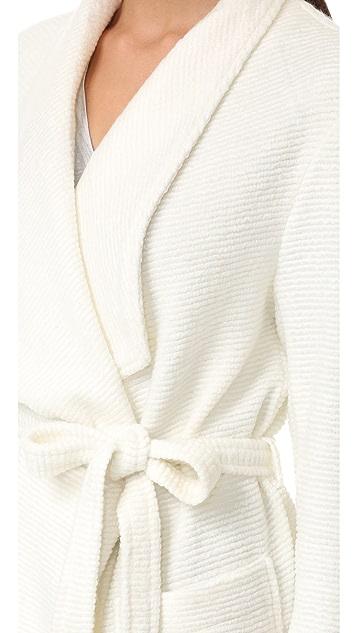 cupcakes and cashmere Alana Textured Knit Wrap Coat