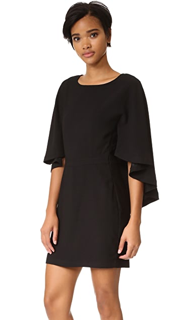 cupcakes and cashmere Jacey Cape Dress