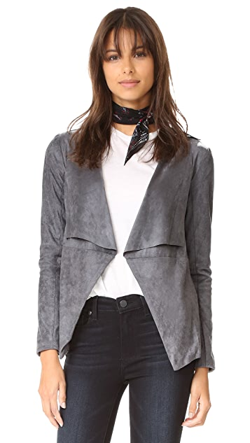 great terracotta draped in drapes jacket justfab front suede faux deals get products at