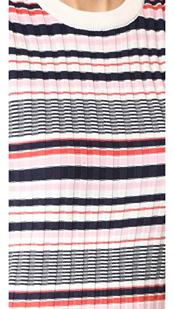 cupcakes and cashmere Walton Stripe Dress