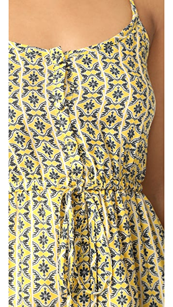 cupcakes and cashmere Welker Viceroy Tile Printed Dress