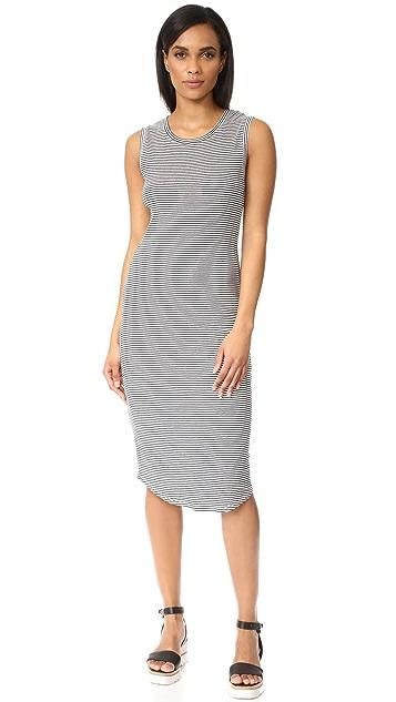 Stripe Bodycon Dress - India ink w.stripe First & I s7MA0hsY