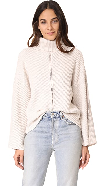 cupcakes and cashmere Randy Cowl Neck Sweater