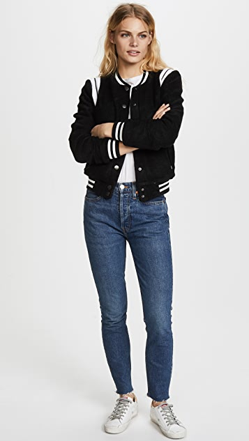 cupcakes and cashmere Cadien Bomber Jacket