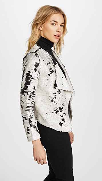 cupcakes and cashmere Bellwood Drape Jacket