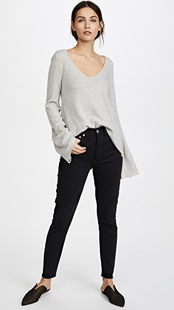 cupcakes and cashmere Marylee Cashmere Sweater