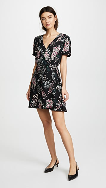 cupcakes and cashmere Dezzi Spring Bouquet Floral Dress