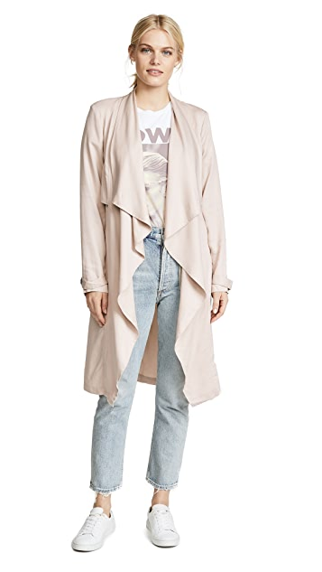 cupcakes and cashmere Anamaria Trench Coat