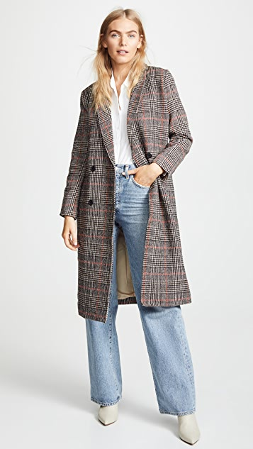 cupcakes and cashmere Adi Plaid Duster Jacket