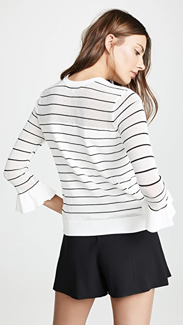 cupcakes and cashmere Liana Sweater - Ivory
