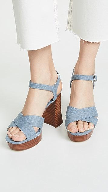 cupcakes and cashmere Harmon Platform Sandals