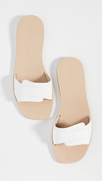 cupcakes and cashmere Farella Slide Sandals
