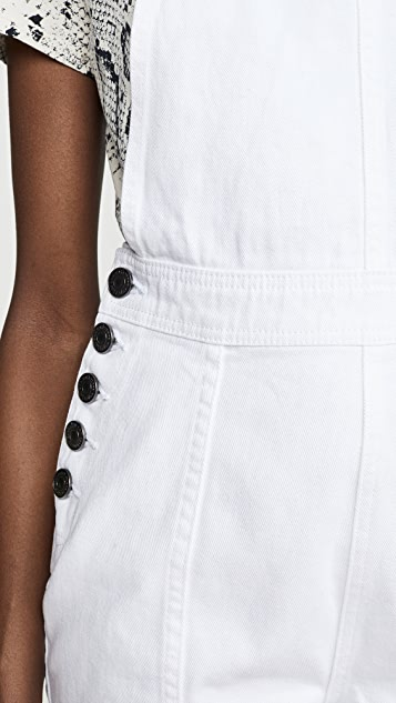 cupcakes and cashmere Carisma Shorts Overalls