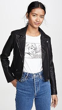 Ines Vegan Leather Jacket