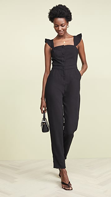 cupcakes and cashmere Well Suited Jumpsuit