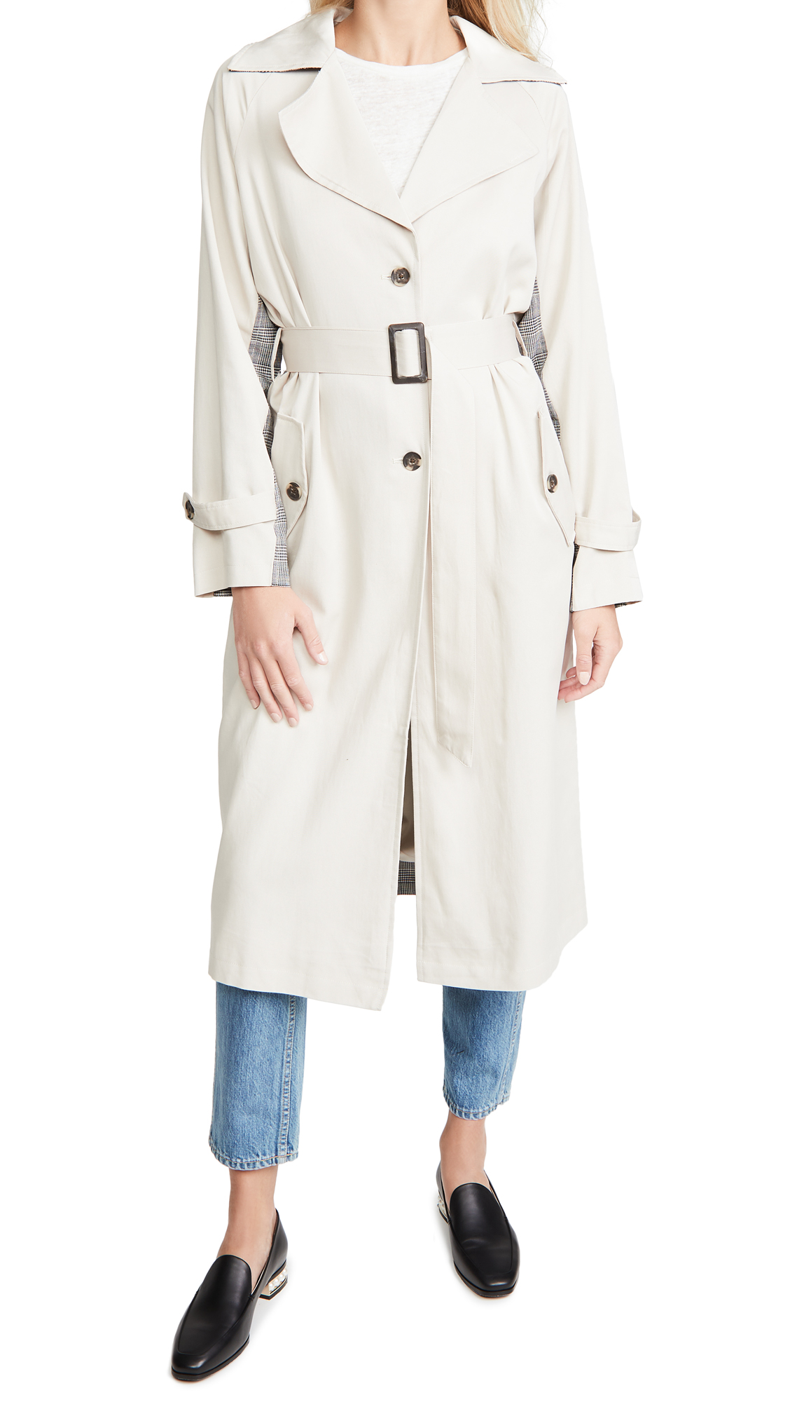 cupcakes and cashmere Mallory Trench Coat