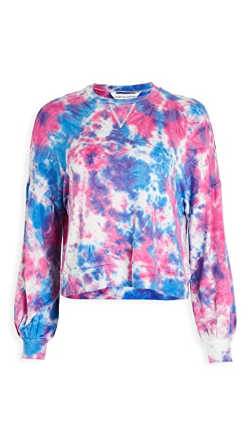 cupcakes and cashmere Gracey Tie Dye Sweatshirt