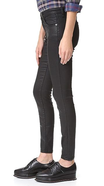 Current/Elliott The High Waist Ankle Skinny Jean