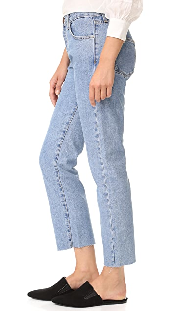Current/Elliott The Original Straight Jeans