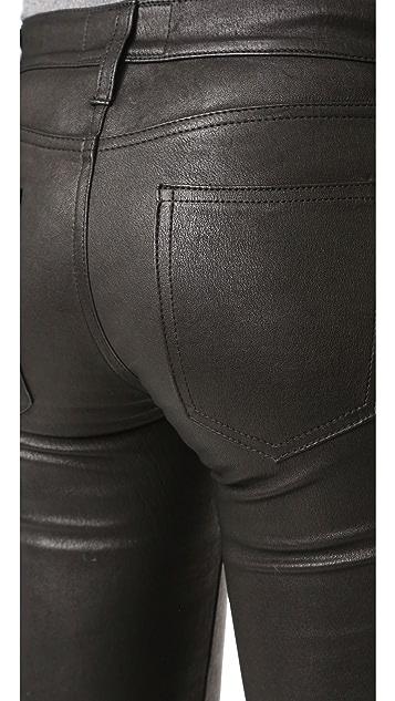 Current/Elliott Welt Pocket Leather Pants