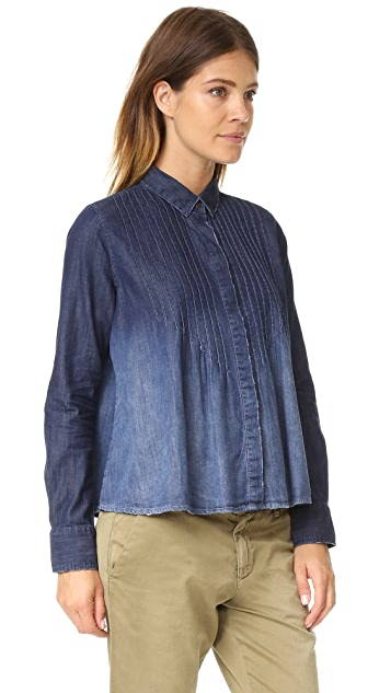 Current/Elliott The Lucy Tuck Blouse