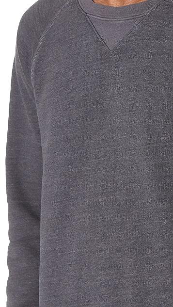 Current/Elliott Vintage Fleece OD Crew Sweatshirt