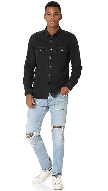 Current/Elliott Ruler Fit 2 Pocket Shirt