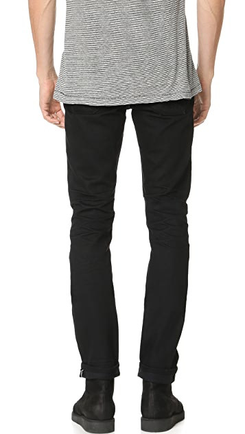 Current/Elliott Straight Fit Jeans