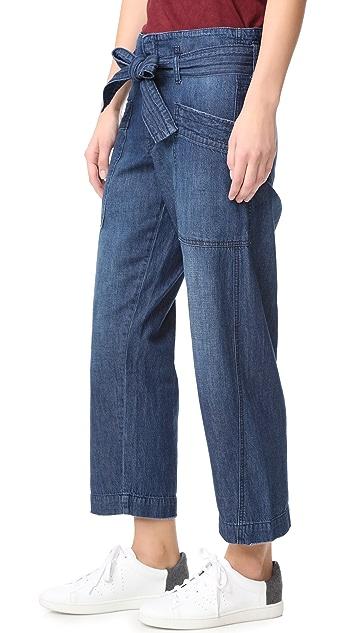 Current/Elliott Trapunto Chore Pants