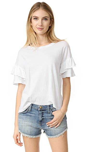 Current/Elliott Ruffle Roadie Tee