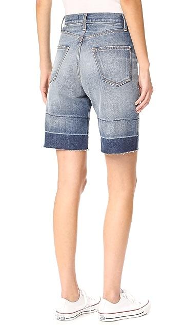 Current/Elliott The Seamed Shorts