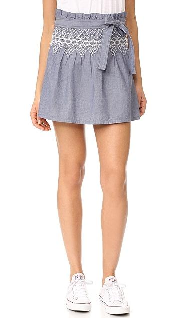 Current/Elliott The Short Rancher Skirt