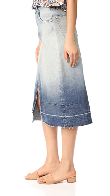Current/Elliott The Slit Midi Skirt