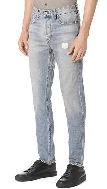 Current/Elliott Taper Fit Jeans