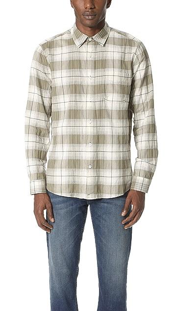 Current/Elliott Classic Fit Single Pocket Shirt