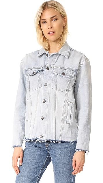 Current/Elliott Vintage Boyfriend Trucker Jacket