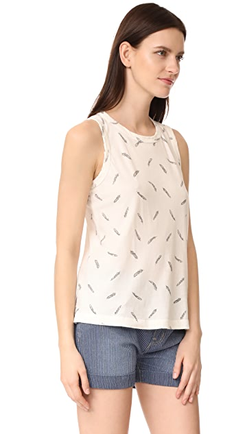 Current/Elliott The Feather Muscle Tee