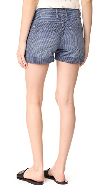 Current/Elliott The Rolled Boyfriend Shorts