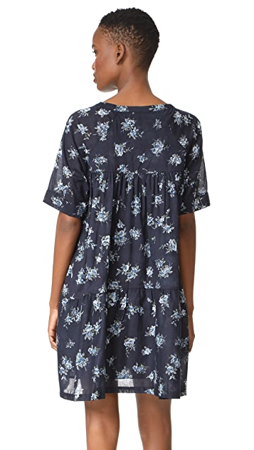 Current/Elliott The Raglan Tee Dress with Split Lining