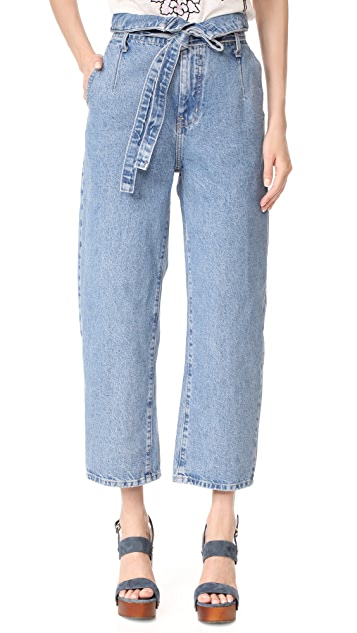 Current/Elliott Corset Jeans