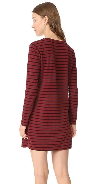 Current/Elliott The Long Sleeve Beatnik Dress