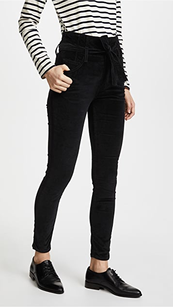 Current/Elliott The Velvet Corset Stiletto Jeans