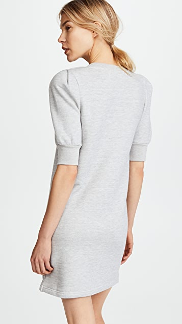 Current/Elliott The Pleat Sweatshirt Dress